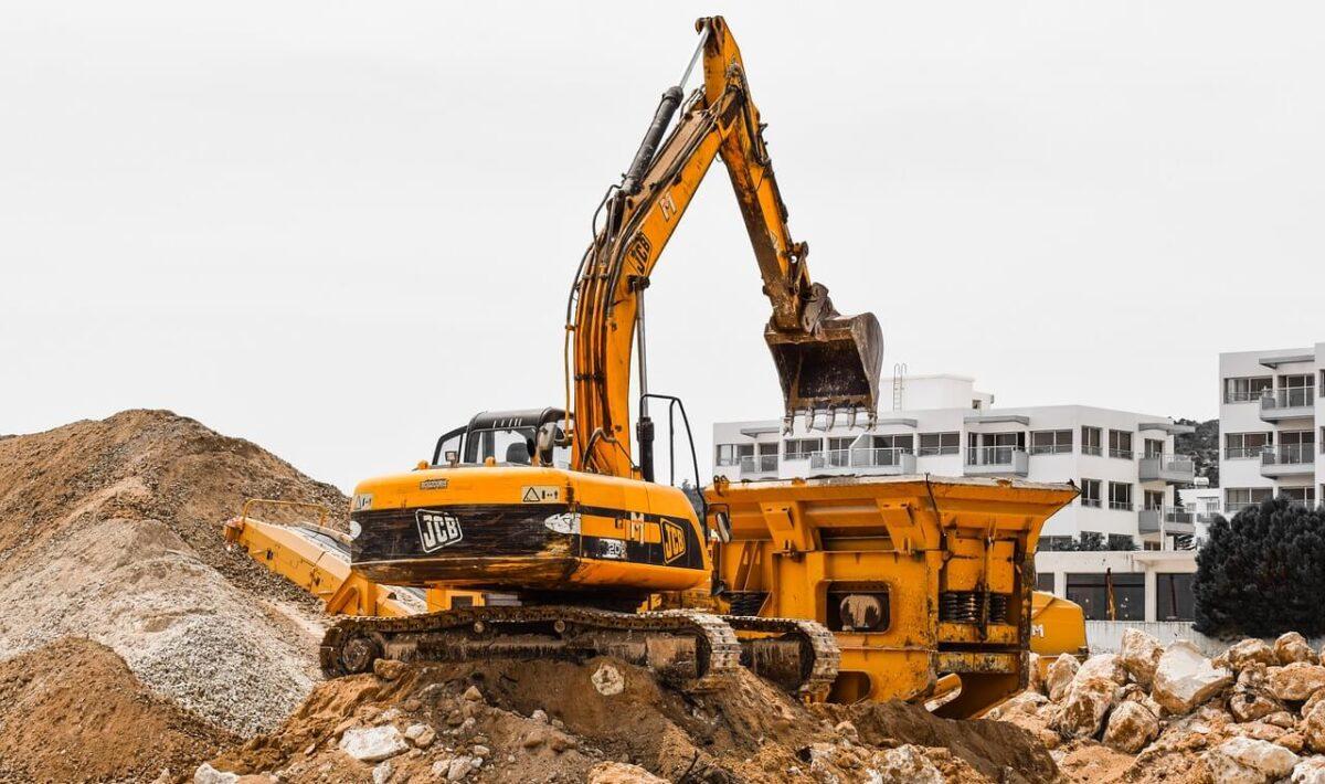 Zastosowanie maszyn budowlanych